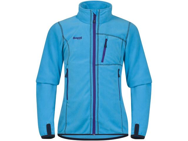 Bergans Runde Jacket Girl Br SeaBlue/Navy/Lavender